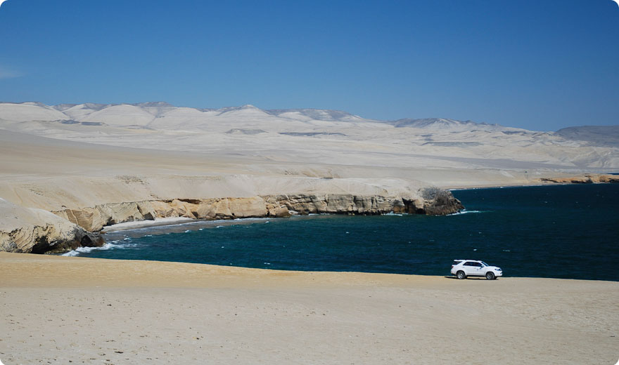 Overlanding in the Natural Reserve of Paracas