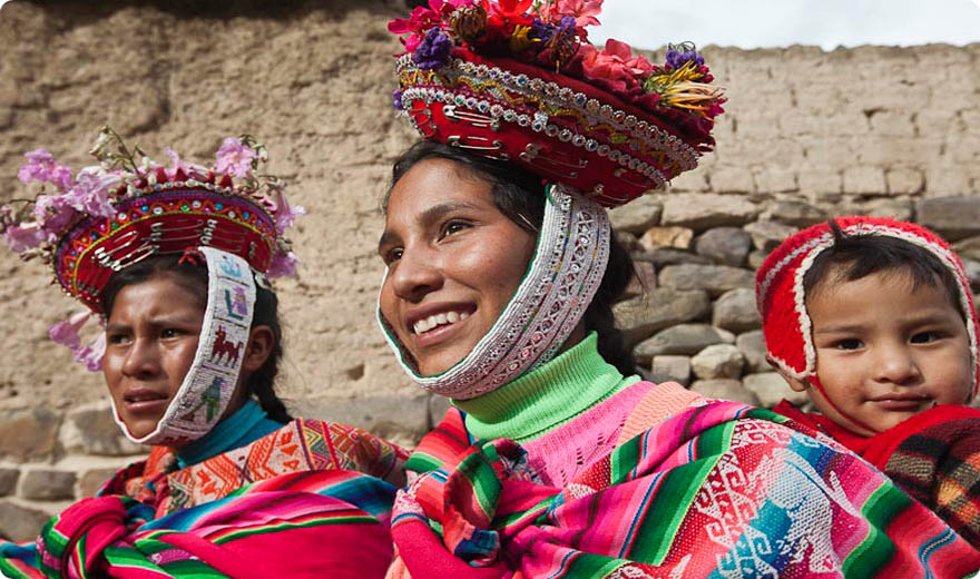 People from Willoc, Ollantaytambo